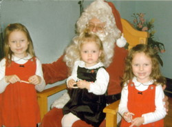 Three girls and lots of Christmas wishes...